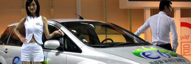 voitures à essence, voiture électrique chine