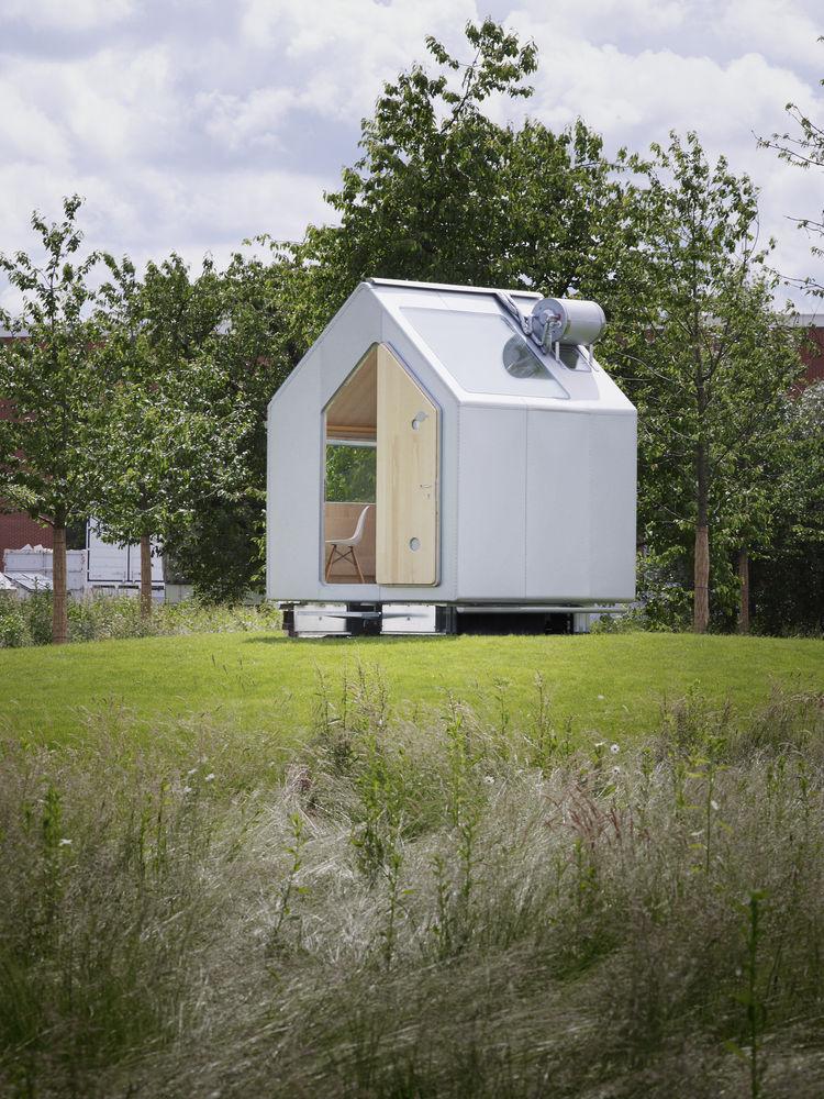 Diogene la maison autosuffisante du futur for Micromaisons minimaliste