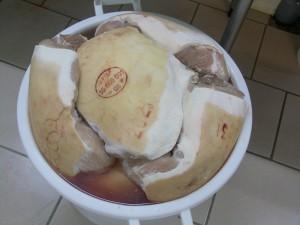 jambon blanc artisanal fabrication artisan éleveur alimentation bio