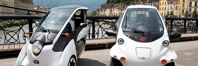 Smart City : Grenoble teste le tricycle électrique i-Road en autopartage