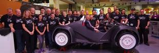 Impression 3D : une voiture électrique imprimée en 44 heures