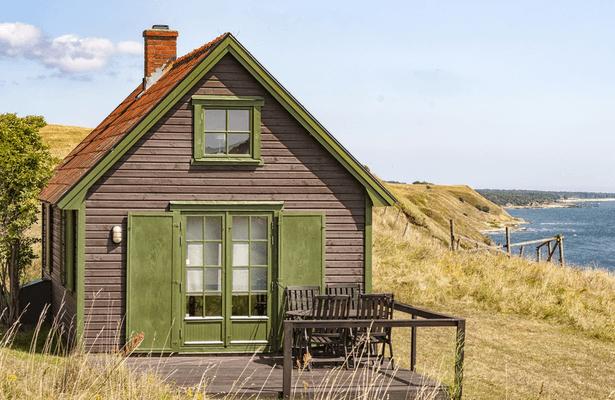 nettoyer sa façade, maison façade bois