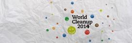 Aidez à nettoyer la planète: World Clean Up 2014