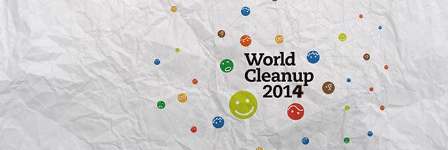 Aidez à nettoyer la planète : World Clean Up 2014
