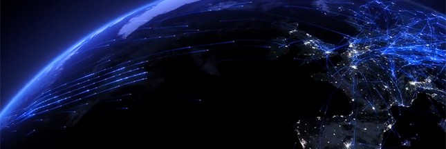 Vidéo : visualisez le trafic aérien en Europe