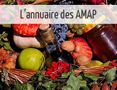 annuaire des AMAP alimentation bio