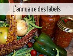 annuaire des labels alimentation bio