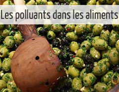 polluants dans l'alimentation