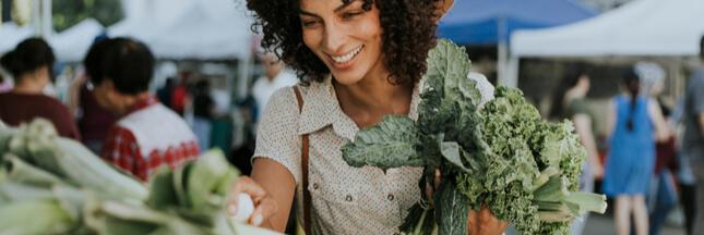 Le chou kale, un chou frisé très vitaminé