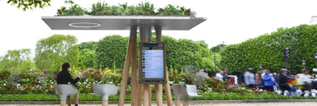 Escale Numérique: un nouvel espace vert à Paris hyperconnecté