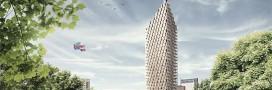 Le premier gratte-ciel en bois à Stockholm?