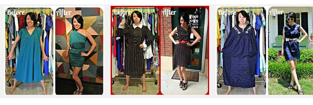 La fée Jillian Owens transforme les fripes en vêtements tendance !