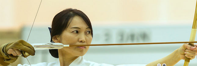 Le kyudo cible le stress
