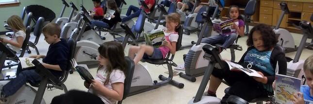 Comment allier sport et lecture à l'école ?