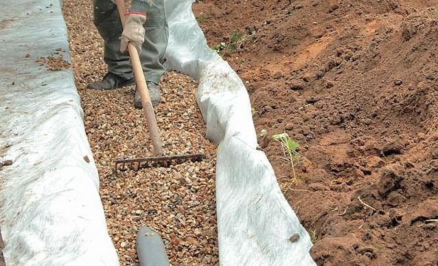 Drainage du sol salinisation