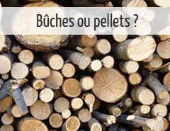 chauffage au bois pellets ou bûches