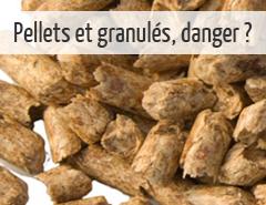 chauffage au bois substances chimiques pellets granulés