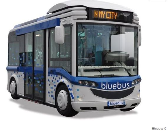 transport le plus efficace bluebus-electrique
