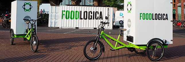 Le vélo-cargo solaire pour transporter la nourriture ?