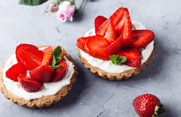 tartelette fraise sens dégustation