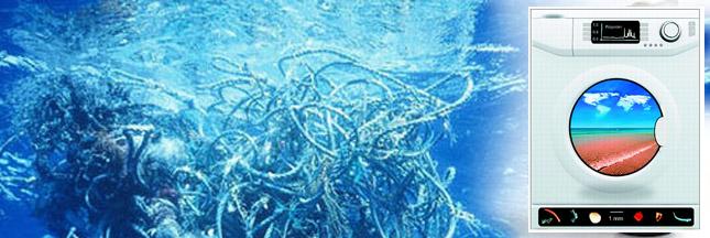 1900 microfibres plastiques polluent l'océan à chaque lavage