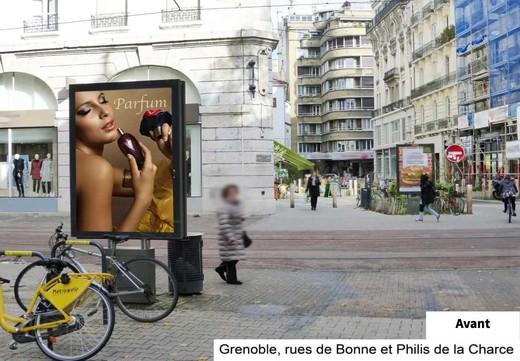 Grenoble panneaux publicitaires