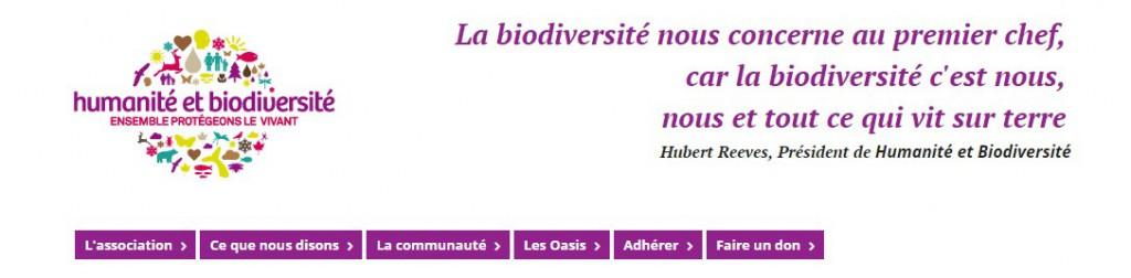 Humanité biodiversité