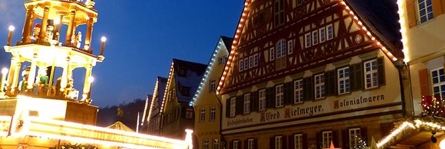 Un marché de Noël médiéval à Esslingen