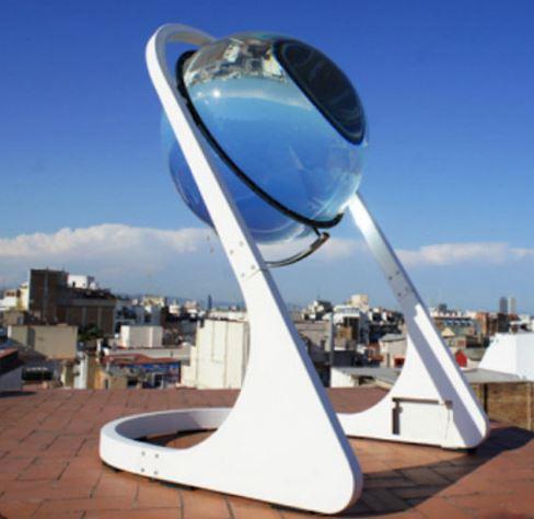 sphere-solaire-chauffage