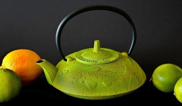 Fête, thé vert