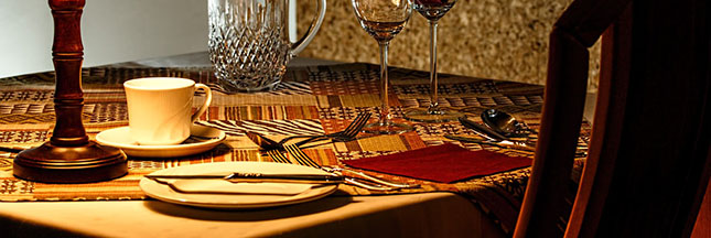 Pour une alimentation plus saine, choisissez un restaurant bien éclairé