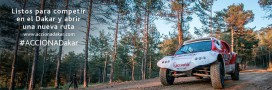 Acciona Dakar 2015: une voiture électrique dans le désert