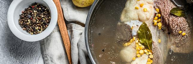 Ces plats qui nous font du bien :  le bouillon à l'os