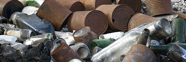 La durée de vie des déchets dans la nature