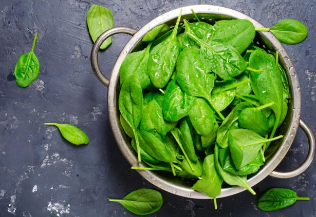 légumes d'hiver, épinards