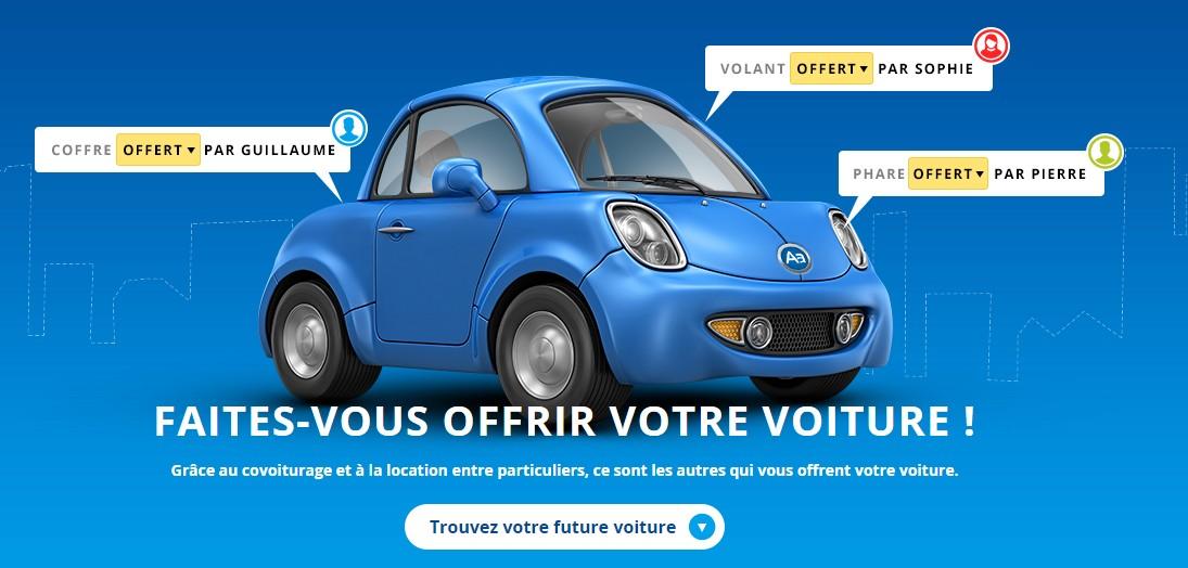 voiture à zéro euro
