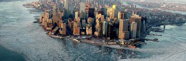 En photos : New York dans la glace, quand la nature reprend ses droits sur la ville