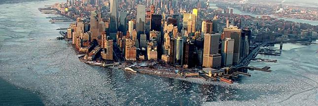 En photos: New York dans la glace, quand la nature reprend ses droits sur la ville