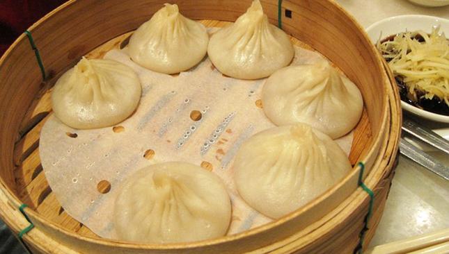 Des Raviolis Chinois Vapeur Aux Légumes