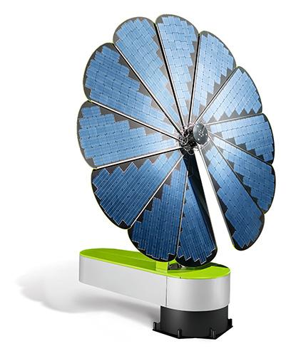 Energie Photovoltaique Smartflower Fleur De L Autoconsommation