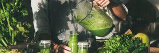 Recette bio : cuisinez un smoothie vert pour le plein de vitamines !