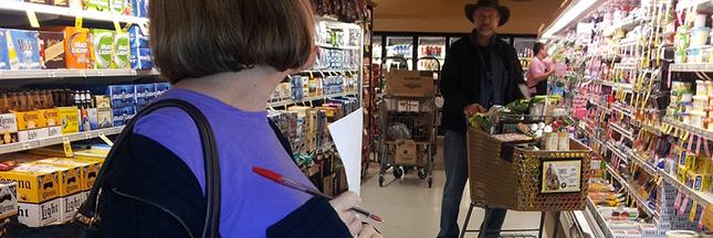 Une année sans faire les courses au supermarché