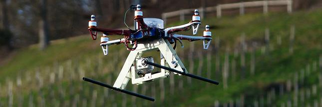 Drone pour l'environnement