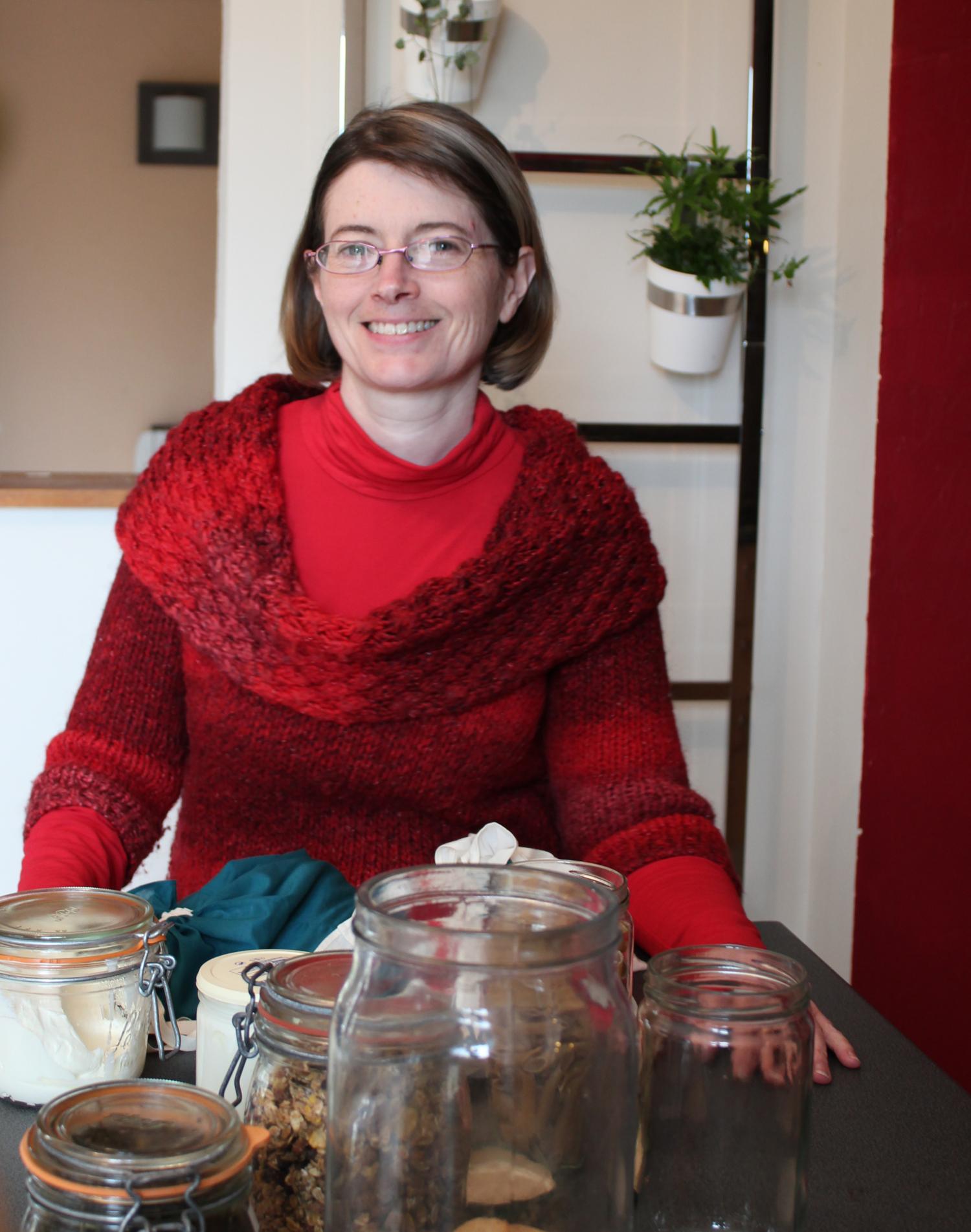 Claire Poirier Zéro déchet-red