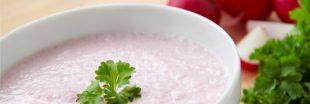 Deux recettes douceur : le velouté de radis rose et le velouté de radis noir