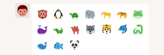 Sauver les espèces menacées, un emoji à la fois ?