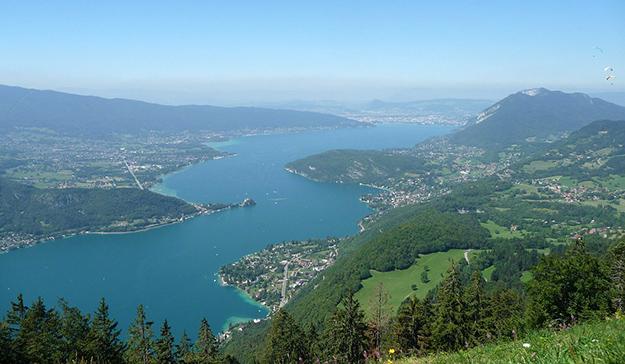 lacs français, lac-annecy