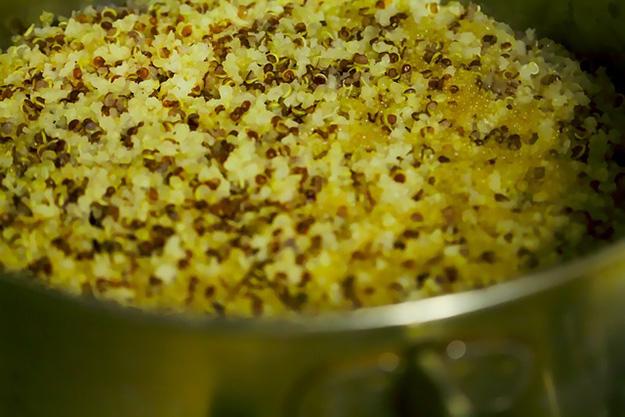 quinoa céréale sans gluten vertus bienfaits protéines cuisine goût