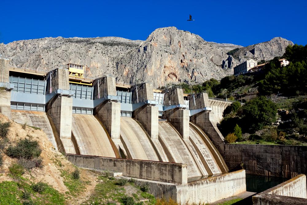 Des barrages ont été construits sur la majorité des rivières européennes, ici près de Malag