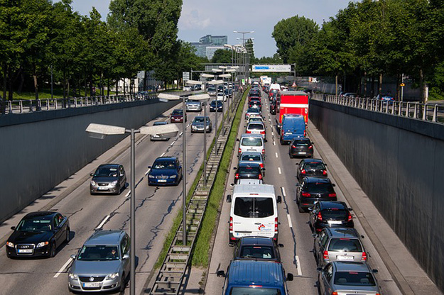 trafic voiture routre accident